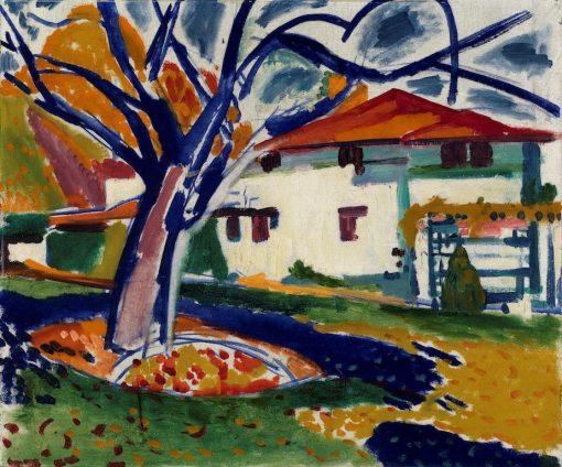 Blue Trees | H. Lyman Saÿen | Oil Painting