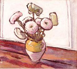 Zinnias | H. Lyman Saÿen | Oil Painting