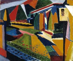 Abstract Landscape | H. Lyman Saÿen | Oil Painting
