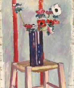 Anemones | H. Lyman Saÿen | Oil Painting