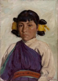 Do-Ree-Tah | Joseph Henry Sharp | Oil Painting