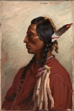 Quinnah | Joseph Henry Sharp | Oil Painting