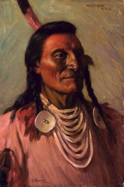 Wolf Ear | Joseph Henry Sharp | Oil Painting
