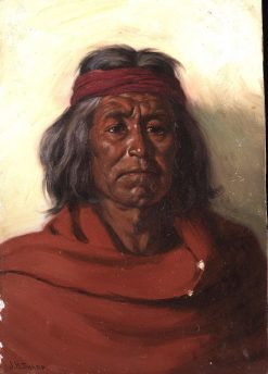 Y-yut-mat | Joseph Henry Sharp | Oil Painting