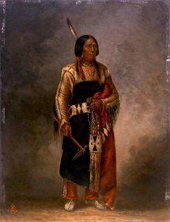 Mak-phe-ah-luta (Red Cloud) | Antonio Zeno Shindler | Oil Painting