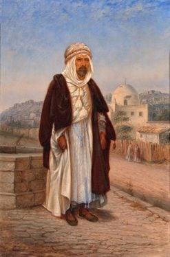 Kabyle Algerian | Antonio Zeno Shindler | Oil Painting