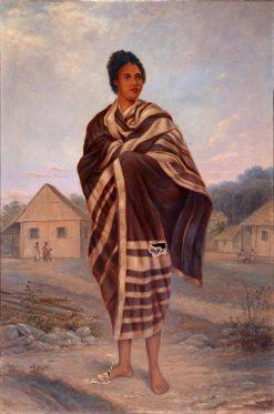 Malagasy Woman | Antonio Zeno Shindler | Oil Painting