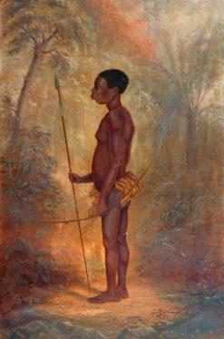 Akka Man | Antonio Zeno Shindler | Oil Painting