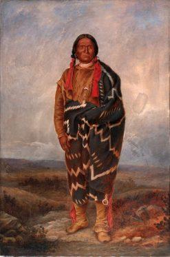 Apache Indian | Antonio Zeno Shindler | Oil Painting