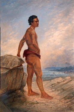 Melanesian Man | Antonio Zeno Shindler | Oil Painting