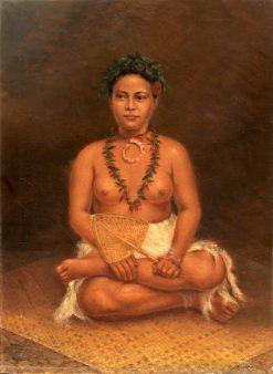 Samoan Woman | Antonio Zeno Shindler | Oil Painting