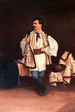 Modern Greek | Antonio Zeno Shindler | Oil Painting