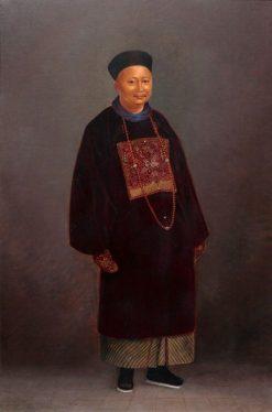 Chinese Mandarin | Antonio Zeno Shindler | Oil Painting