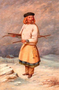 Lithuanian Man | Antonio Zeno Shindler | Oil Painting