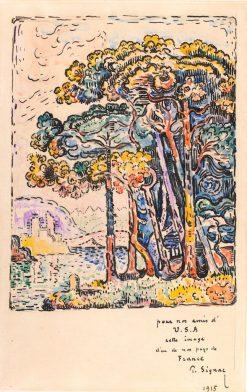 Henrietta Shore | Paul Signac | Oil Painting