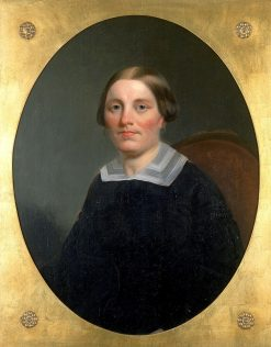 Emeline Willet   John Mix Stanley   Oil Painting