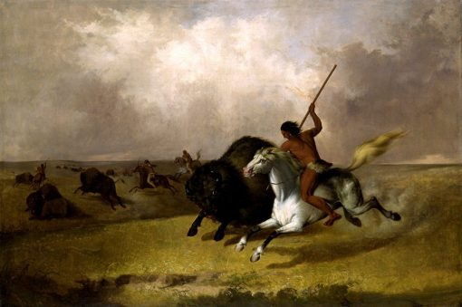 Buffalo Hunt on the Southwestern Prairies | John Mix Stanley | Oil Painting