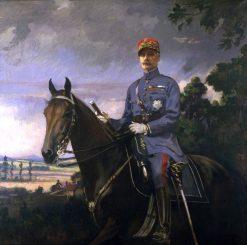 Marshal Ferdinand Foch | Edmund Tarbell | Oil Painting