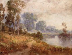 Sacramento River | William Franklin Jackson | Oil Painting