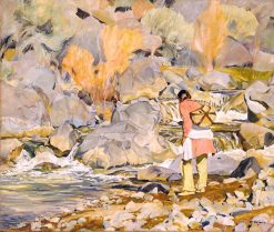 After Them | Walter Ufer | Oil Painting