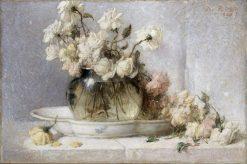 Roses | John Ferguson Weir | Oil Painting