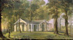 Kalorama Cottage | John Ferguson Weir | Oil Painting