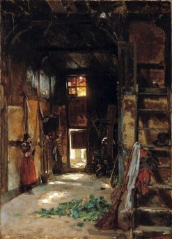Interior of a Westphalian Cottage | Thomas Worthington Whittredge | Oil Painting