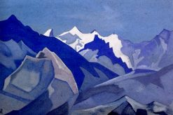 Sasser Pass | Nicholas Roerich | Oil Painting