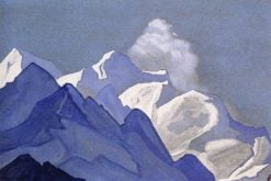 Foothills of Kanchenjunga | Nicholas Roerich | Oil Painting