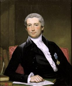 Portrait of General Giles | Joseph Wright | Oil Painting