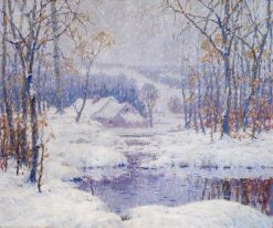 Winter Magic | Charles Jacob Young | Oil Painting