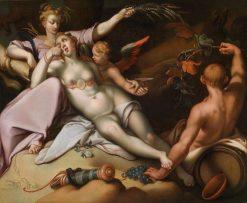 Sine Baccho et Cenere friget Venus | Abraham Bloemaert | Oil Painting