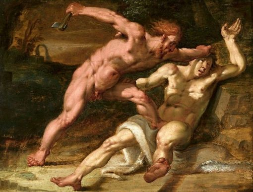 Cain Slaying Abel | Abraham Bloemaert | Oil Painting