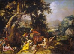 Landscape with the Ministry of John the Baptist | Abraham Bloemaert | Oil Painting