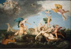 Triumph of Neptune | Abraham Bloemaert | Oil Painting