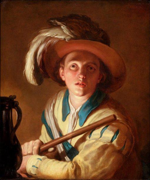 The Flute Player | Abraham Bloemaert | Oil Painting