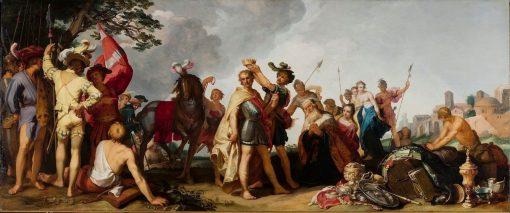 Coronation Scene | Abraham Bloemaert | Oil Painting