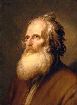 Old Man | Abraham Bloemaert | Oil Painting
