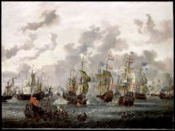 The Four Days' Battle | Abraham Jansz. Storck | Oil Painting