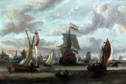 View of Amsterdam with the Ij | Abraham Jansz. Storck | Oil Painting