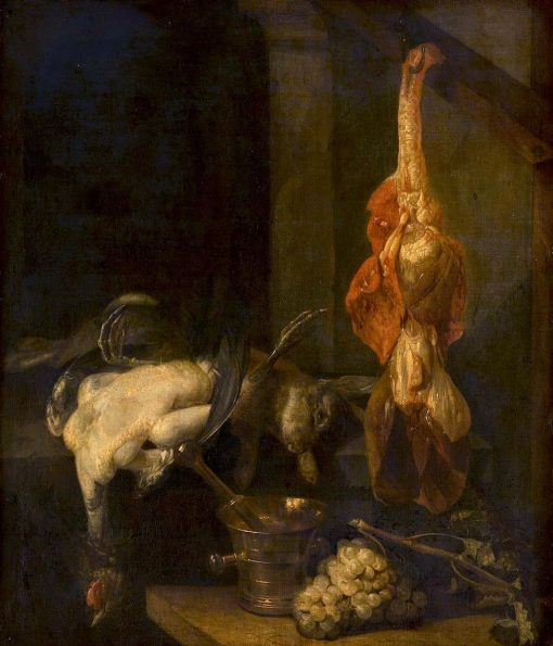 Still Life with Game and Fowl | Abraham van Beyeren | Oil Painting