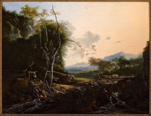 Italianate Landscape | Adam Pynacker | Oil Painting
