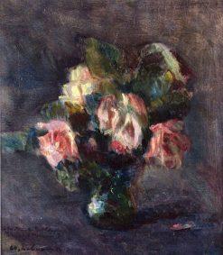 Small Vase of Roses | Albert Lebourg | Oil Painting