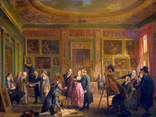 The Art Gallery of Josephus Augustinus Brentano | Adriaan de Lelie | Oil Painting
