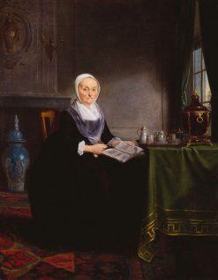 Portrait of Hendrick de Hartog | Adriaan de Lelie | Oil Painting