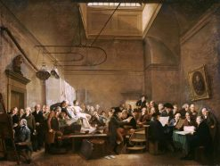 The Drawing Gallery of the Felix Meritis Society | Adriaan de Lelie | Oil Painting