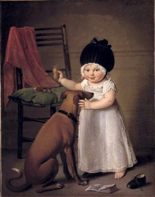 Suzanna Sophia Maria Hodshon | Adriaan de Lelie | Oil Painting