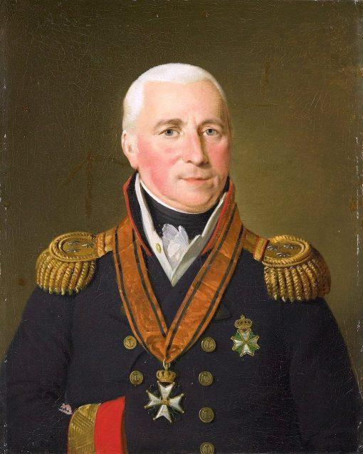 Portrait of Gerrit Verdooren | Adriaan de Lelie | Oil Painting