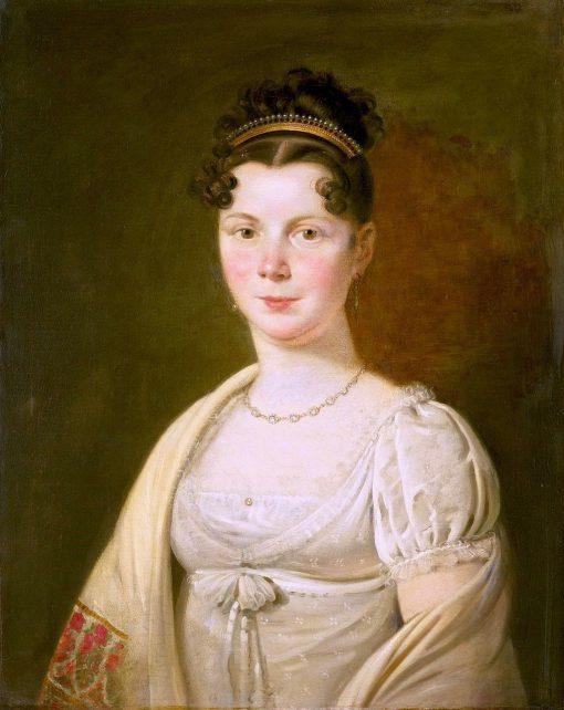 Portrait of Wilhelmina Maria Haack