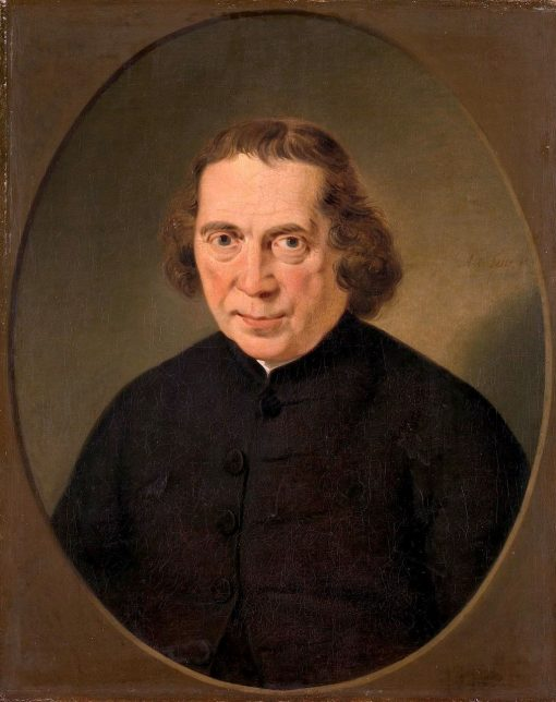 Portrait of Jan Nieuwenhuyzen | Adriaan de Lelie | Oil Painting